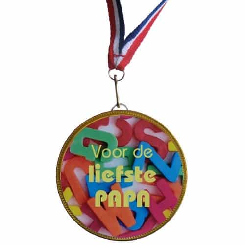 Medaille Liefste Papa