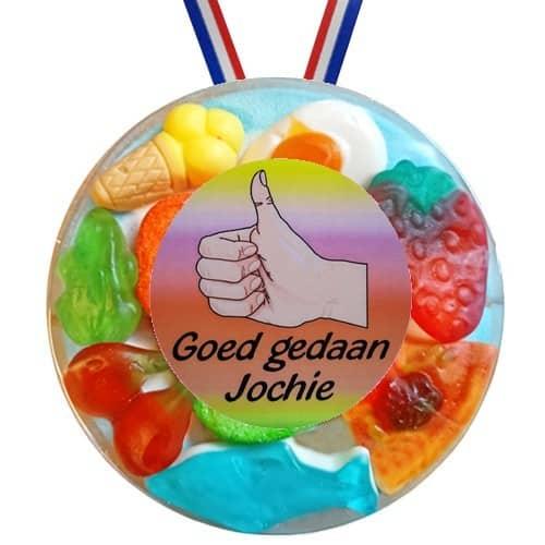 Snoepmedaille Goed Gedaan Jochie