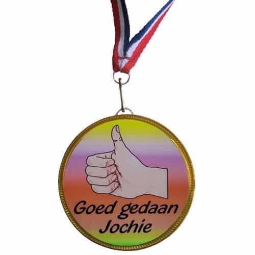 Medaille Goed Gedaan Jochie