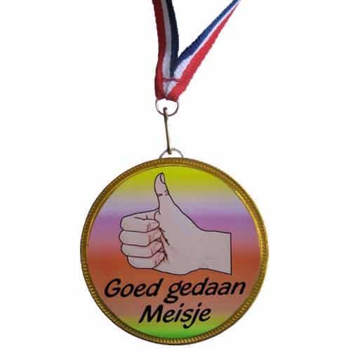 Medaille Goed Gedaan Meisje