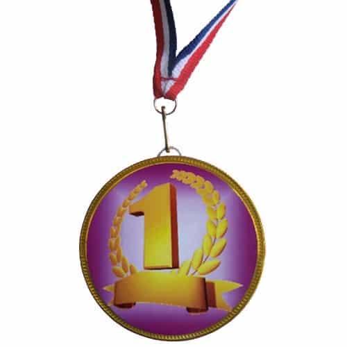 Medaille nummer 1 Krans
