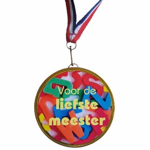 Medaille Liefste Meester
