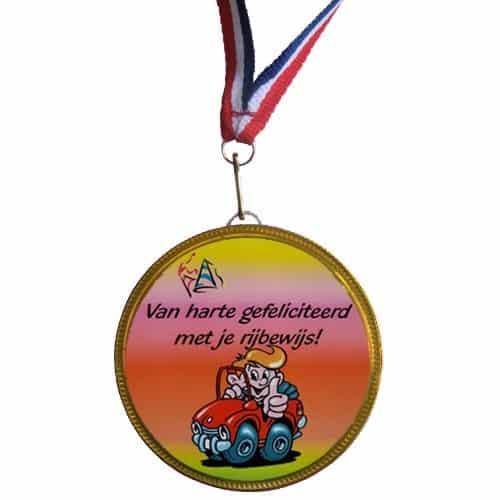 Medaille Rijbewijs gehaald