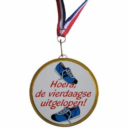 Medaille 4 Daagse Uitgelopen